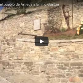 Vídeo homenaje del pueblo de Artieda a Emilio Gastón