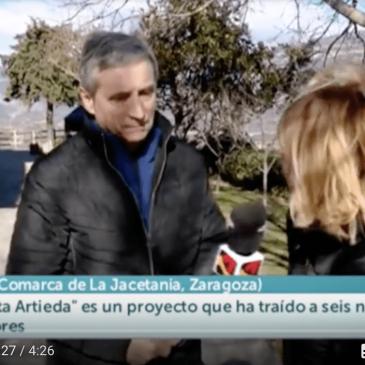 Artieda en Aragón TV