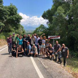 Artieda aculle la Uitena Trobada – Vivir en aragonés