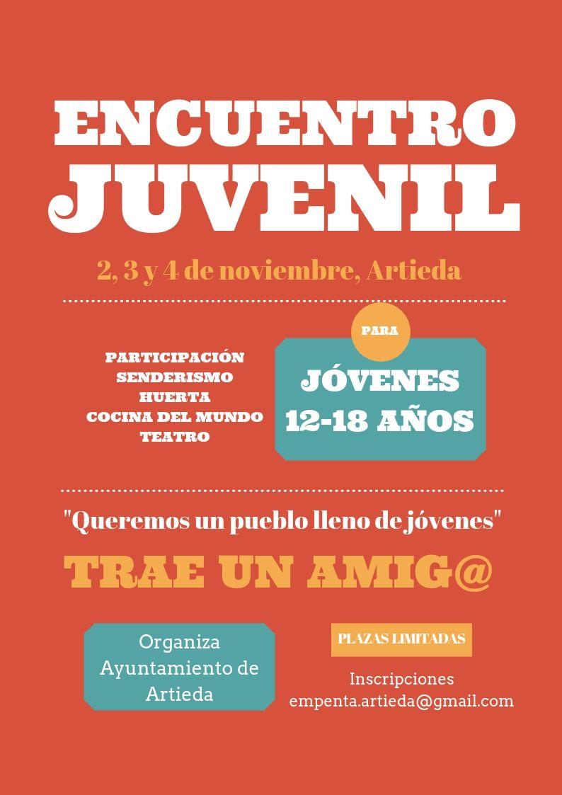 Encuentro Juvenil Noviembre 2018 Concello D Artieda