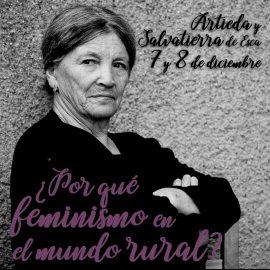 Jornadas Feminismo y Mundo rural en Artieda y Salvatierra