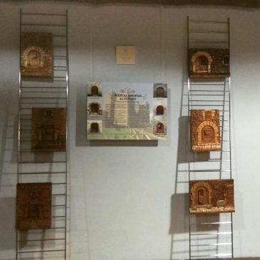 Exposición de tallas de madera de Biniés