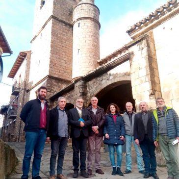 El Justicia de Aragón visita Artieda