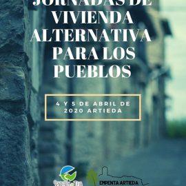 Jornadas de vivienda alternativa para pueblos en Artieda