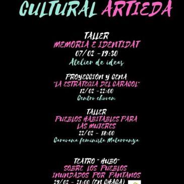 Febrero cultural en Artieda